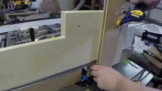 Custom Jig for Routing Lock Miter Joints | Modern Classics Custom