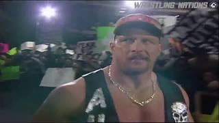 Stone Cold Entrance in Huge Canadian 43000+ Crowd on RAW