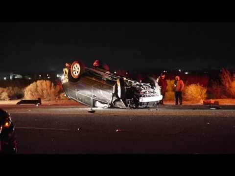 Fatal Accident Closes Palmdale Road Friday December 16, 2016