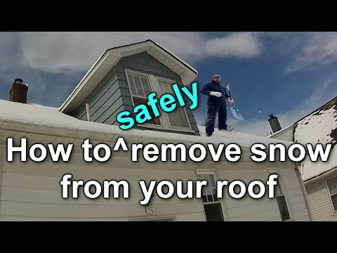 How to Safely Remove Snow from Your Roof