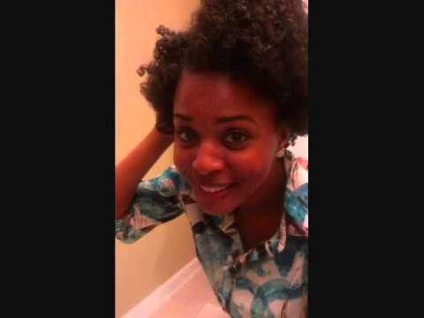 Styling 4c Natural hair: Flat Twist Out w/ Perm Rods'][0].replace('