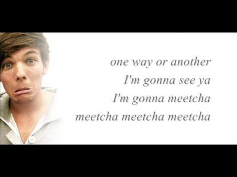 One Way Or Another-one Direction (lyrics+pictures) video