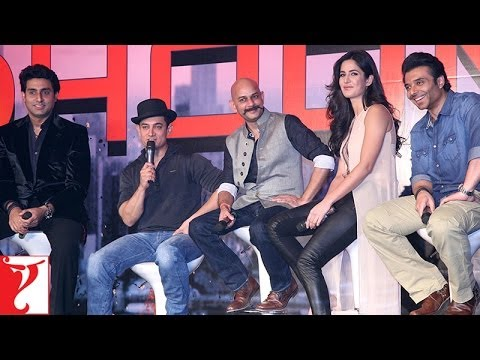 Press Meet With The Team Of DHOOM:3 - Part 2