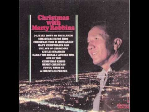 Marty Robbins - Christmas Time Is Here Again