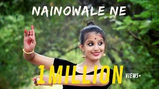 NAINOWALE NE (PADMAAVAT) | Semi- Classical Dance Video |TANISHKA SUTRAKAR|DANCE CHANNEL