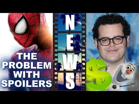 The Amazing Spider-man 2 Spoilers?! Olaf Aka Josh Gad's Frozen Success - Beyond The Trailer video
