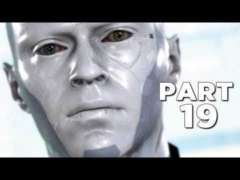 DETROIT BECOME HUMAN Walkthrough Gameplay Part 19 - SKIN (PS4 Pro)