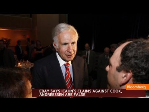 eBay: Icahn's Claims Against Cook, Andreessen False