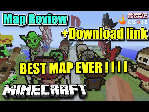 MINECRAFT - PS3 - BEST MAP EVER - REVIEW + DOWNLOAD LINK ( PS4 ) TU19 SERVER UPDATE