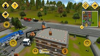 Construction Simulator #36 LÁI XE CẨU GẠCH LÊN TẦNG 2 - Game Lái Xe Trên Điện Thoại