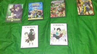 Anime update 12/1/17 thrift store pickups