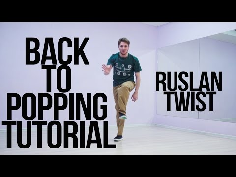 Back to Popping Tutorial | STREETDANCETV