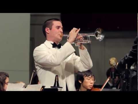 Arutiunian Trumpet Concerto - John Parker, trumpet, with the UNC Symphony Orchestra