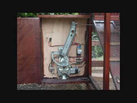 Automatic Timed Chicken Coop Door Youtube