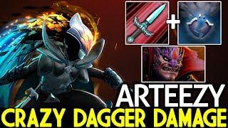 Arteezy [Phantom Assassin] Crazy Dagger Damage Destroy Pub Game 7.21 Dota 2