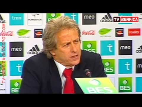 Apresentação de Jorge Jesus - Novo Treinador do Benfica (Completo) - 1/3
