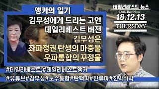 """김무성에게 드리는 고언 데일리베스트 버전 """"김무성은 좌파정권 탄생의 마중물 우파통합의 꾸정물"""""""