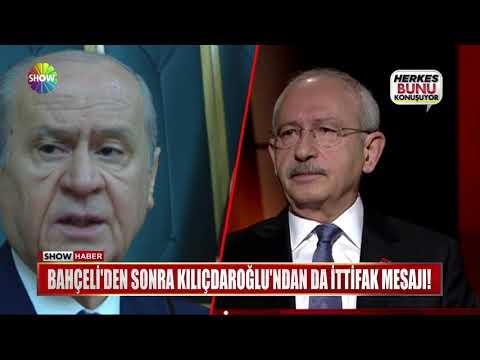 Bahçeli'den sonra Kılıçdaroğlu'ndan da ittifak mesajı!