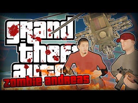 Zombie Andreas 4.0 - СУМАСШЕСТВИЕ НА МОСТУ!