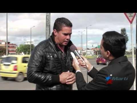 Cubanos varados en Bogotá esperan obtener visa estadounidense