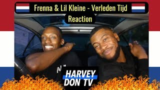 Frenna & Lil Kleine - Verleden Tijd Reaction Harvey Don TV