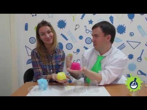 Научное шоу. Опыты с полиакрилатом натрия