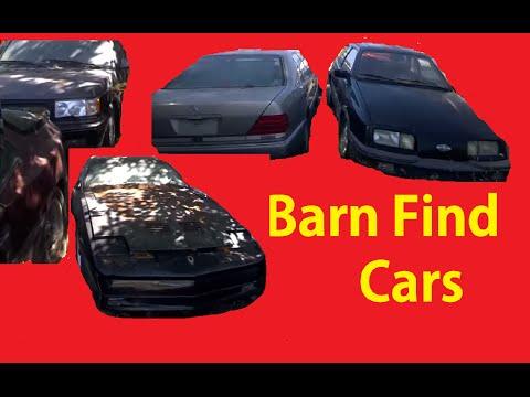 Car Lot Storage  Barn Find Old Cars Walkaround & Transport #2