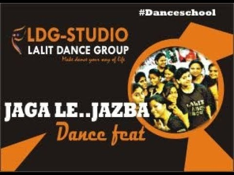 jag le tu jaga le jazba beginners class lalit dance group