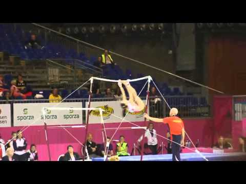 Maria Paula VARGAS ESP, Bars Senior Qualification, European Gymnastics Championships 2012