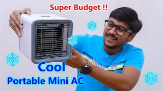 Smallest Portable AC Ever... Only 750 Rs !!