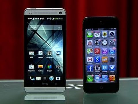 Prizefight - HTC One vs. Apple iPhone 5
