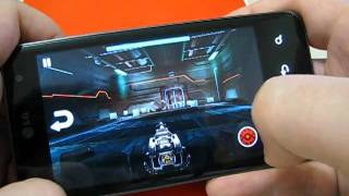 Nova HD video-game on LG Optimus 2x