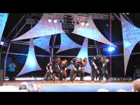 Diversity Dance Group - Winners Of Britain's Got Talent 2009 - Live At Canary Wharf, 17-sep-2009 video