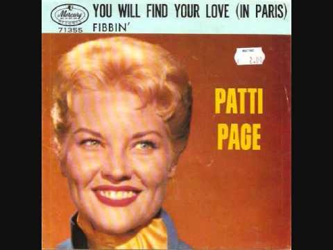 Patti Page - Fibbin