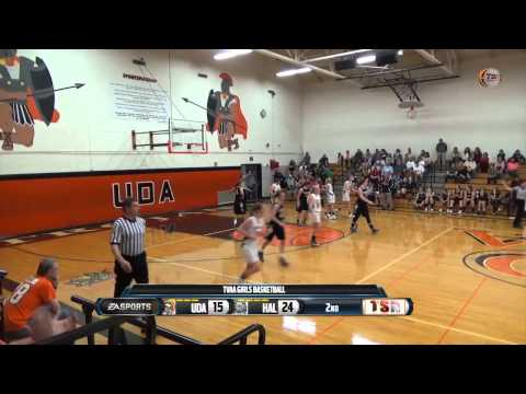 Girls Basketball-Halifax vs Upper Dauphin Area