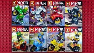 LEGO Ninjago Sons of Garmadon Motorcycles Minifigures (knock-off) DUO LE PIN DLP9070