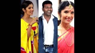 singer anuradha sriram kku vada pochea #sarithiran in narithanam