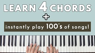 Download Lagu Learn 4 Chords & Instantly Be Able To Play Hundreds Of Songs! Gratis STAFABAND