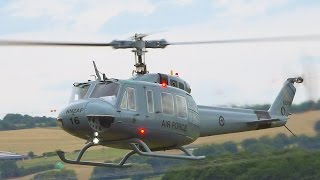 BIG RC TURBINE HELICOPTER BELL UH-1D SCALE MODEL / Jet Power Fair 2016