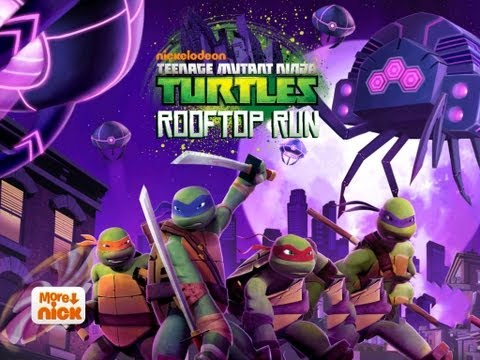 Teenage Mutant Ninja Turtles: Rooftop Run iPhone, iPod Touch, and iPad Gameplay [HD]