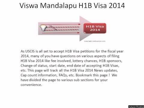 Viswa Mandalapu News : H1B Visa 2014