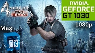 Resident Evil 4 HD Edition | GT 1030 | i3-7100 | 8GB RAM | 1080p Max Settings