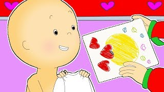 Caillou Will You Be My Valentine? ❤️ Funny Animated Caillou   Cartoon for kids   WATCH ONLINE