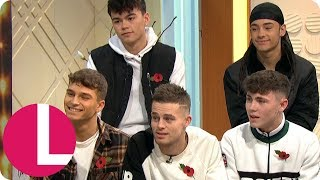X Factor's United Vibe Are Ready to Be the Next Biggest Boy Band With Robbie's Help | Lorraine