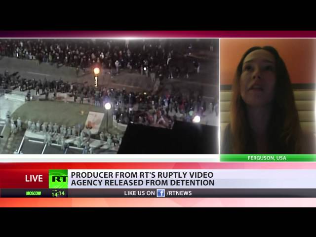 'Arrested without any warning': RT Ruptly producer on Ferguson detention