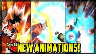 NEW DOKKAN BATTLE SUMMON ANIMATIONS! | Dokkan Battle JP