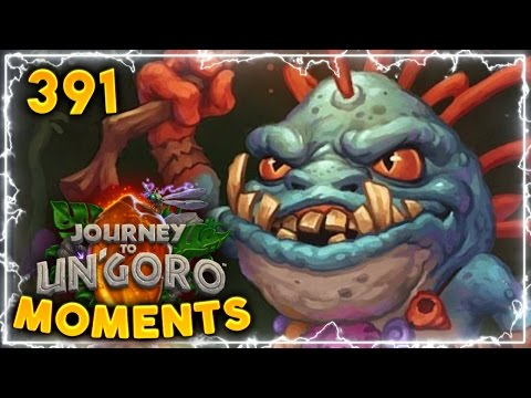 The DREAM Draw..!! | Hearthstone Un'Goro Daily Moments Ep. 391 (Funny And Lucky Moments)