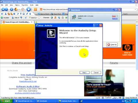 Free Recording Software: Audacity Tutorial Part One