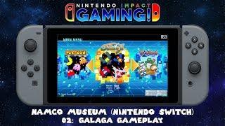 NAMCO MUSEUM (Nintendo Switch) - 02: Galaga Gameplay