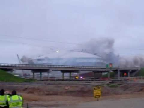 Texas Stadium Demolition - The Epic Dallas Cowboys' Texas Stadium Implosion! Video